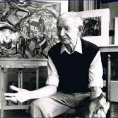 Kunstschilder Jan van Anrooij  (1901-1988)